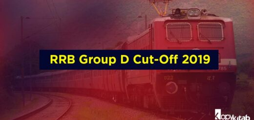 RRB Group D Cut-Off 2019