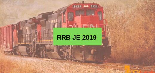 RRB JE 2019