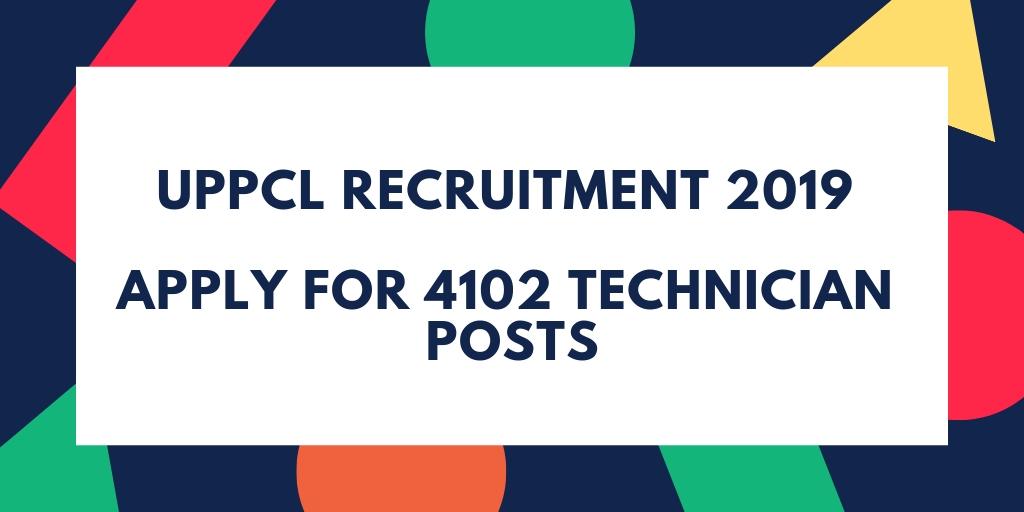 UPPCL Recruitment 2019