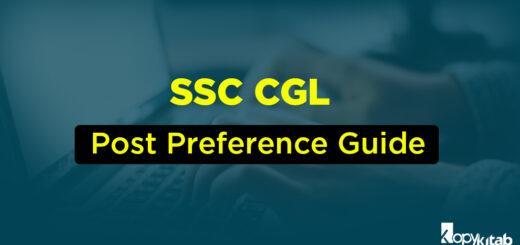 ssc cgl post preference