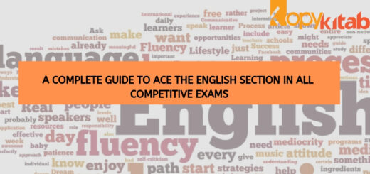 A Complete Guide to Ace the English Section in all Competitive Exams