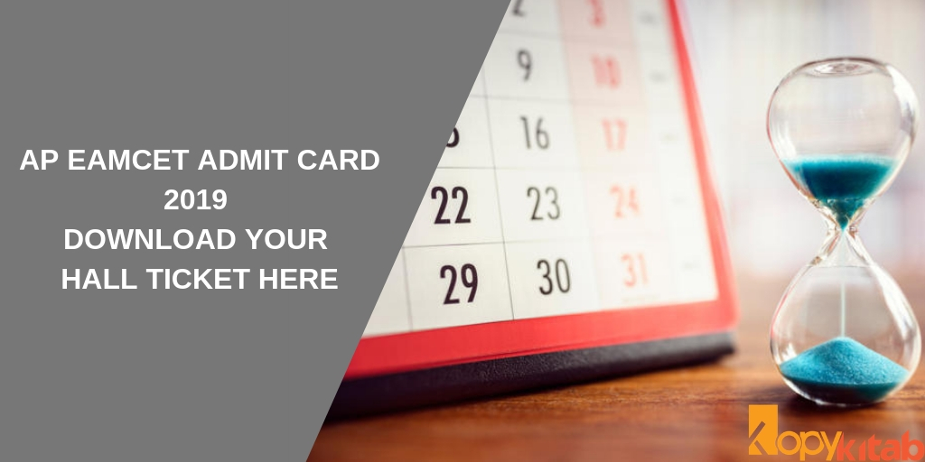 AP EAMCET Admit Card 2019 Download Your Hall Ticket Here