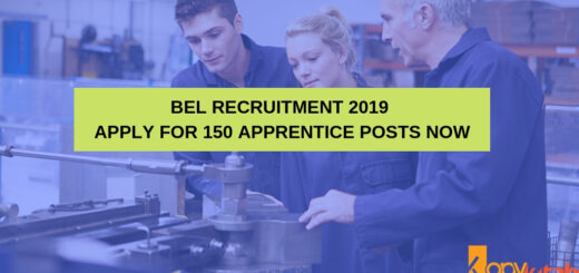 BEL Recruitment 2019 Apply for 150 Apprentice Posts Now
