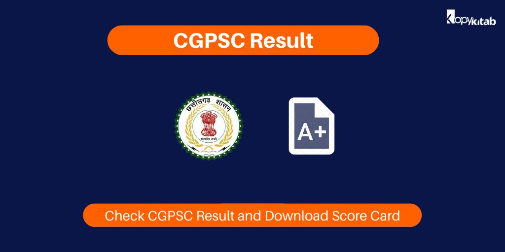 CGPSC Result 2020