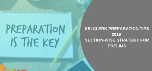 SBI Clerk Preparation Tips 2019 Section-wise Strategy for Prelims
