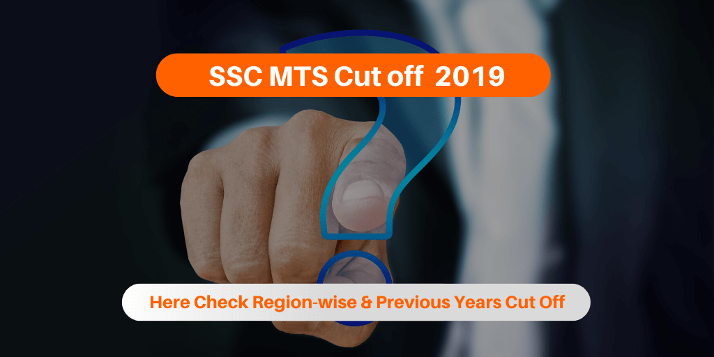 SSC MTS Cut off 2019
