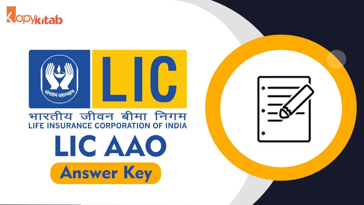 LIC AAO Answer key