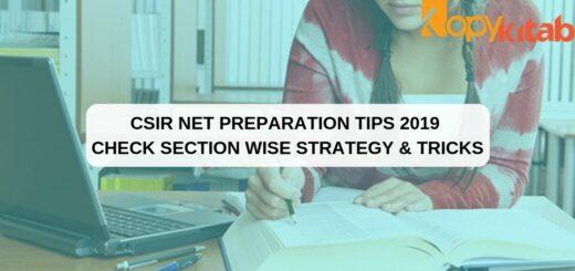 CSIR NET Preparation Tips
