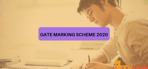 GATE Marking Scheme 2020