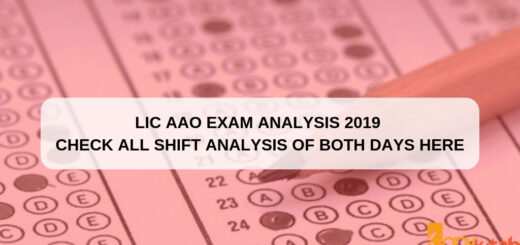 LIC AAO exam analysis