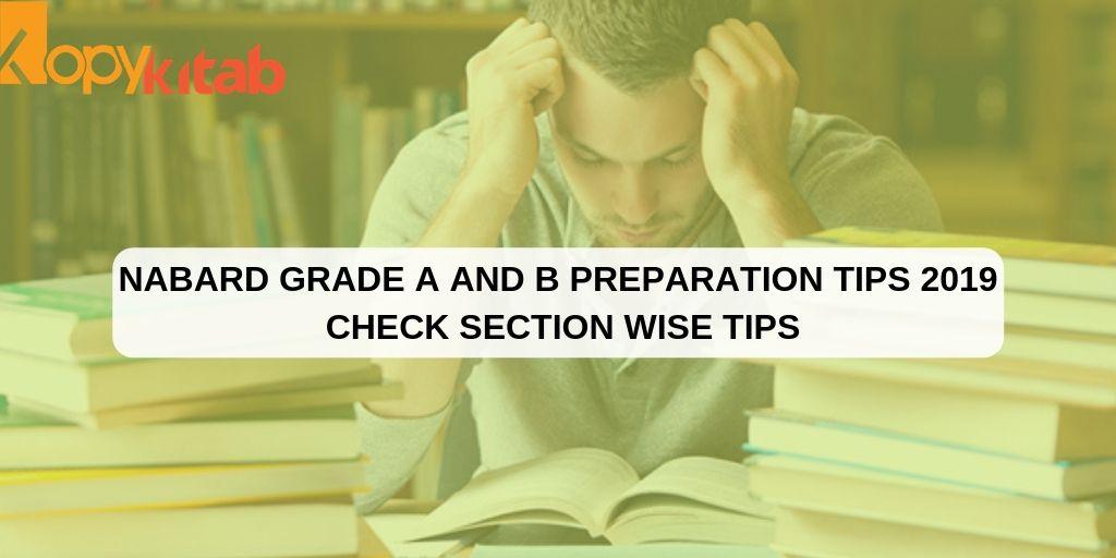 NABARD Grade A and B Preparation Tips