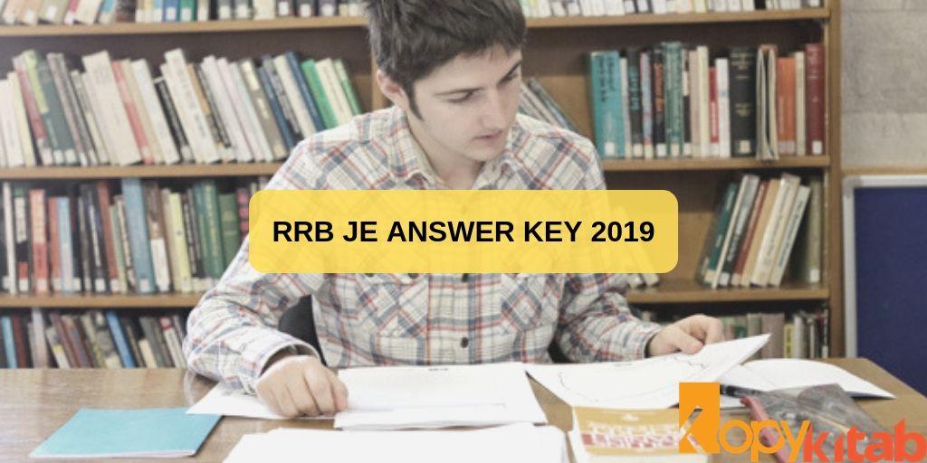 RRB JE Answer KeY 2019