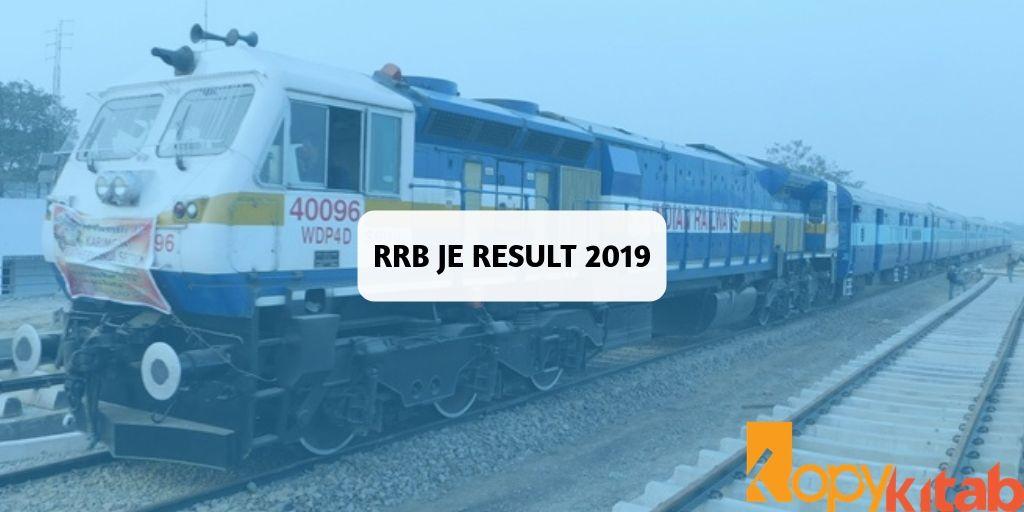 RRB JE Result 2019