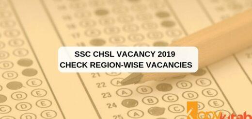 SSC CHSL Vacancy