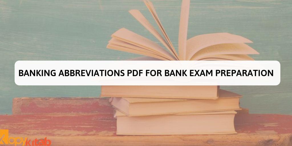 Banking Abbreviations