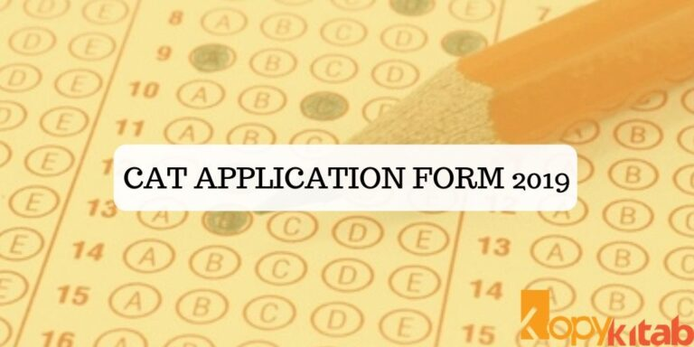 CAT Application Form 2019
