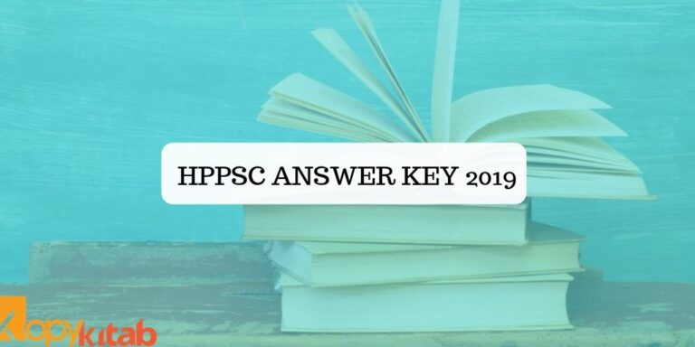 HPPSC Answer Key 2019