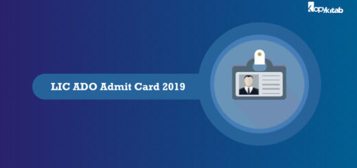 LIC ADO Admit Card 2019