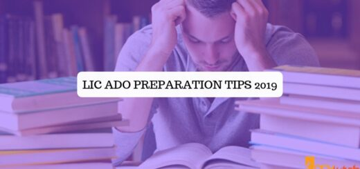 LIC ADO Preparation Tips 2019