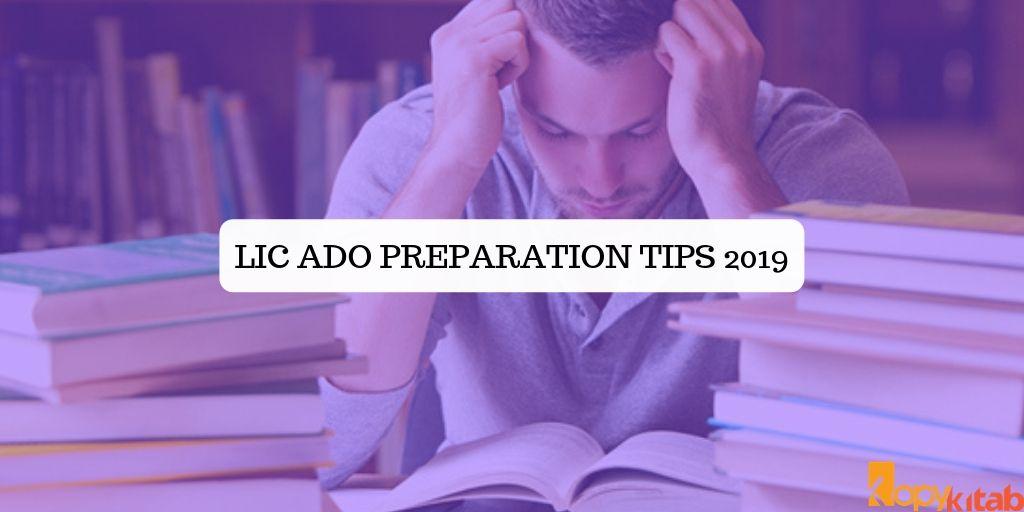 LIC ADO Preparation Tips 2019