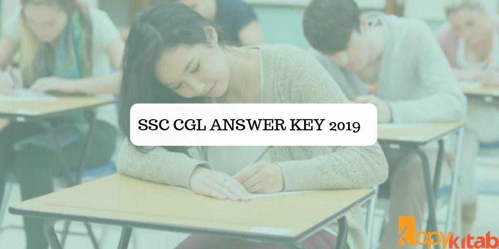 SSC CGL Answer Key 2019