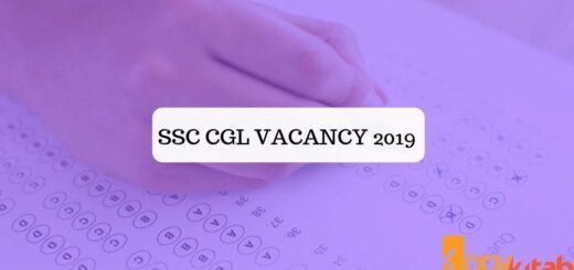 SSC CGL Vacancy 2019