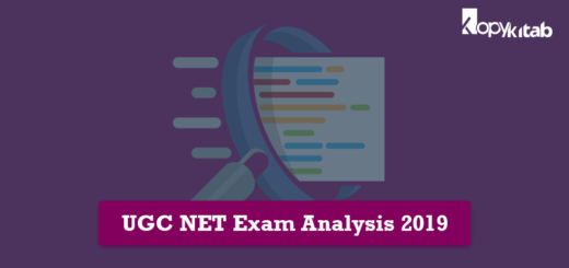 UGC NET Exam Analysis 2019