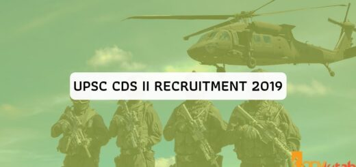 UPSC CDS II Recruitment