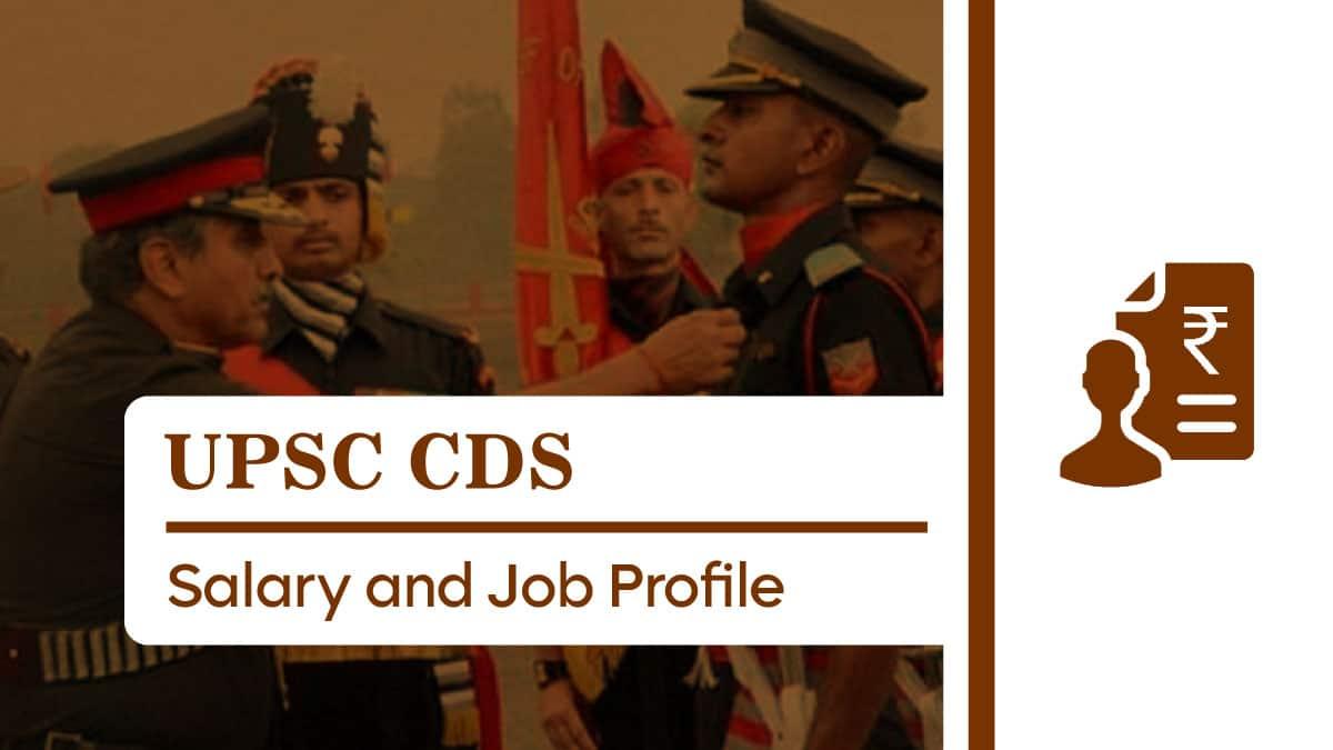 UPSC CDS Salary