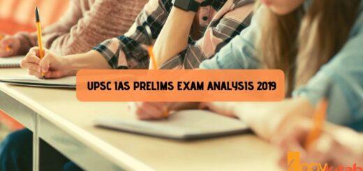 UPSC IAS Prelims Exam Analysis 2019