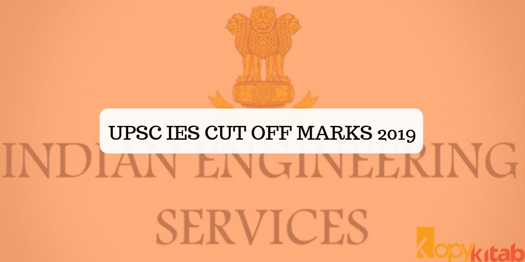 UPSC IES Cut off Marks 2019