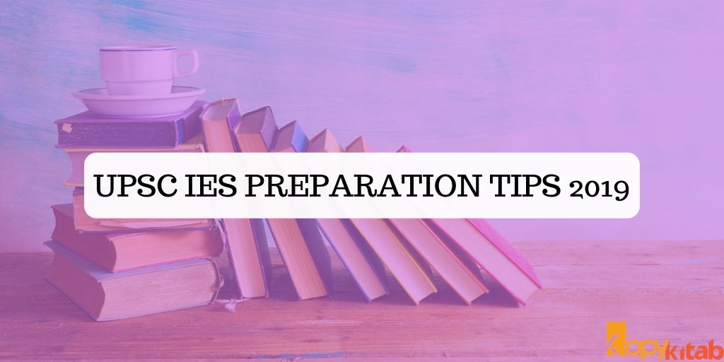 UPSC IES Preparation Tips