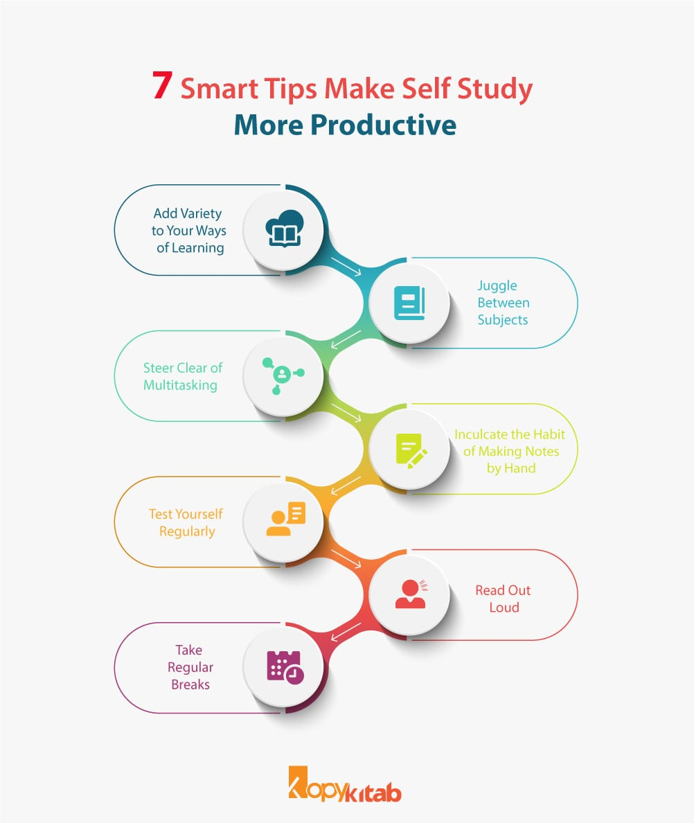 7 smart tips for self study
