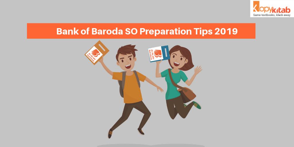 Bank of Baroda SO Preparation Tips