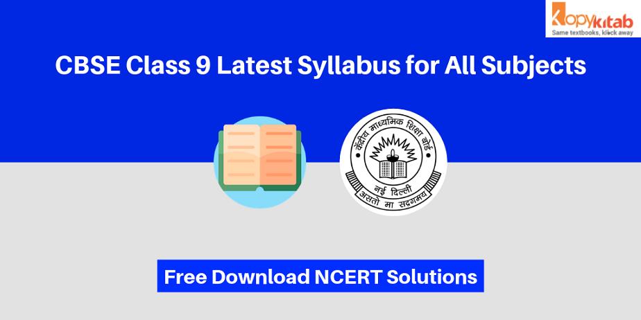 CBSE Class 9 | Syllabus (2019-20) All Subjects | Free