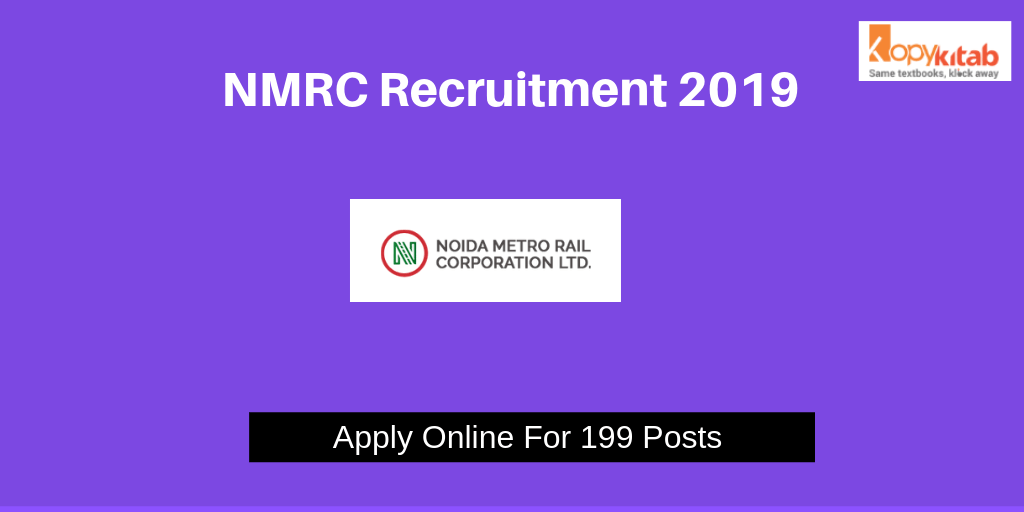 NMRC Recruitment 2019