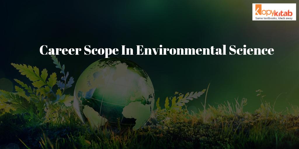Career Scope In Environmental Science