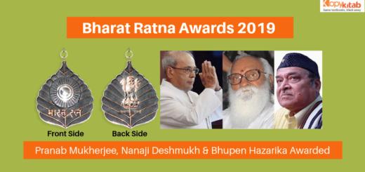 Bharat Ratna Awards 2019