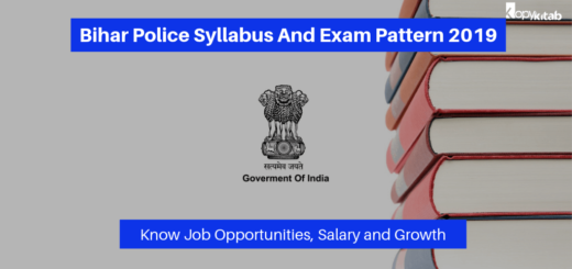 Bihar Police Syllabus And Exam Pattern 2019