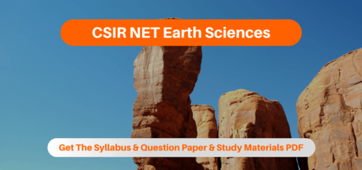 CSIR NET Earth Sciences