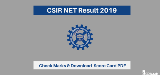 CSIR NET Result 2019
