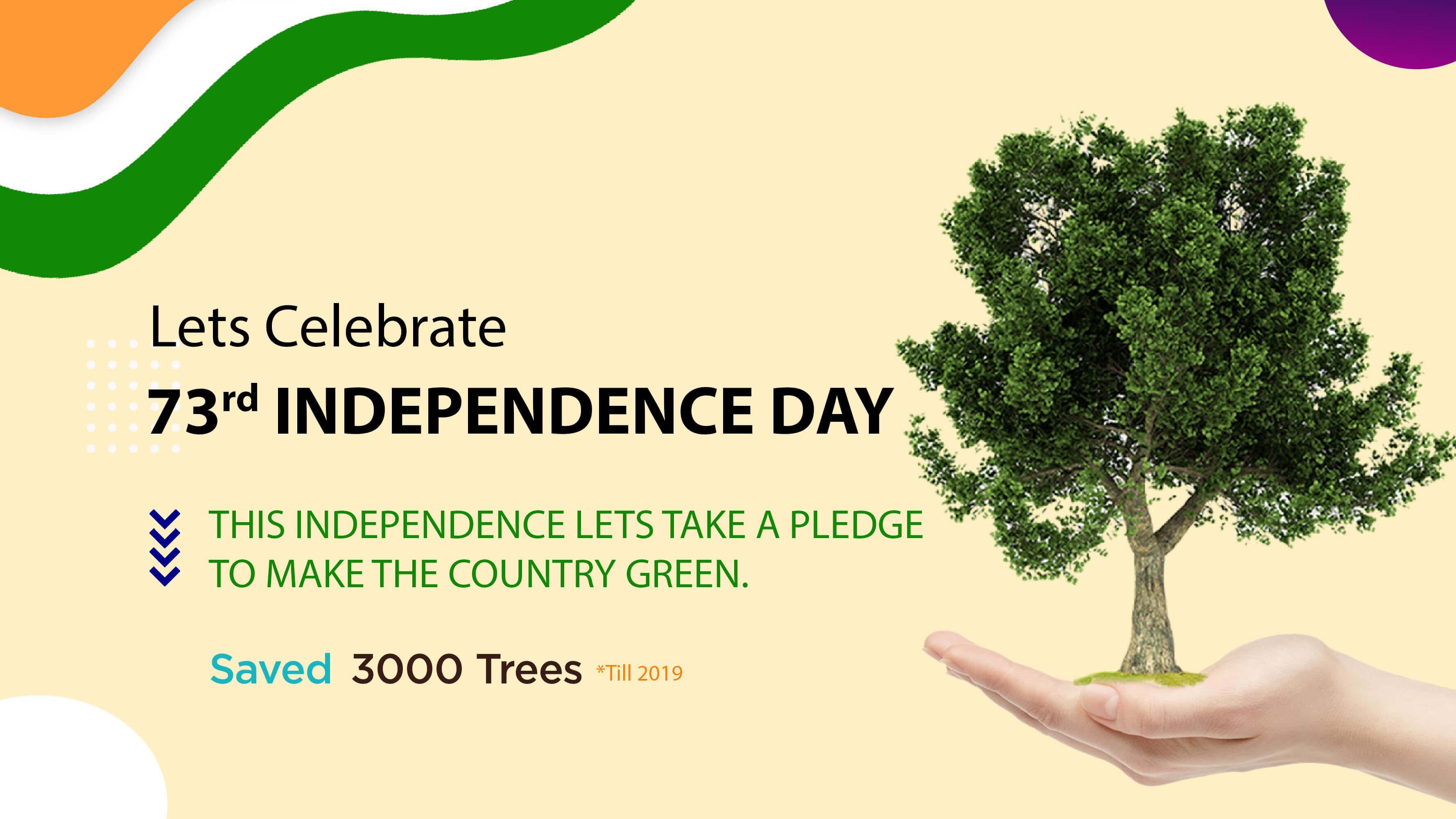 Celebrate Greener 73rd Independence Day With Kopykitab