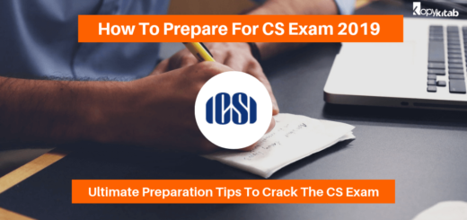 How To Prepare For CS Exam 2019