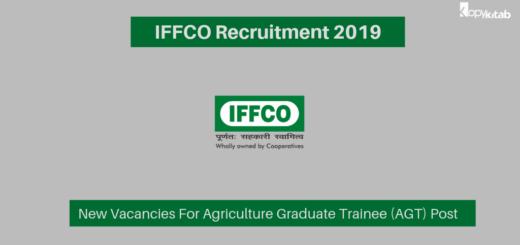 IFFCO Recruitment 2019