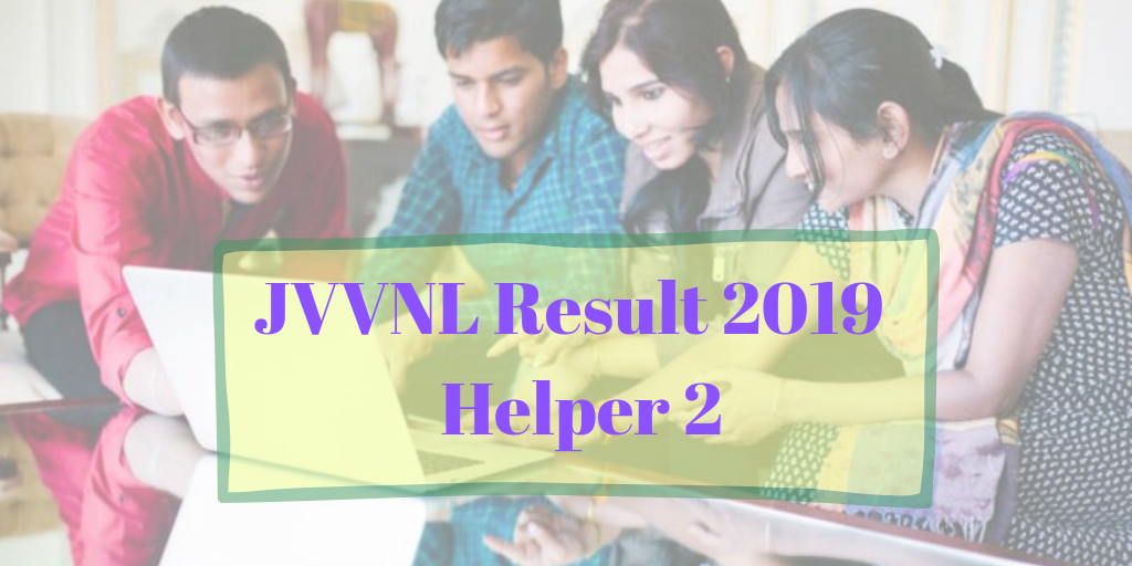 JVVNL Result