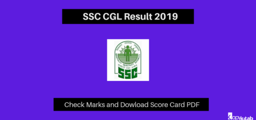 SSC CGL Result 2019