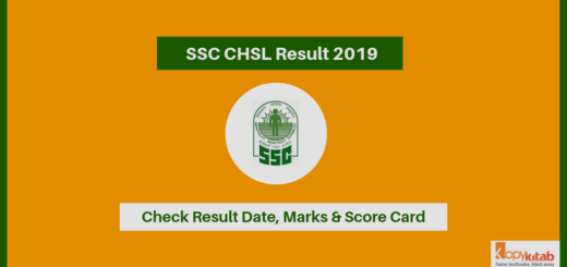 SSC CHSL Result 2019