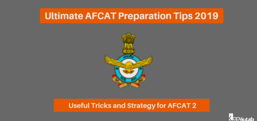 Ultimate AFCAT Preparation Tips 2019