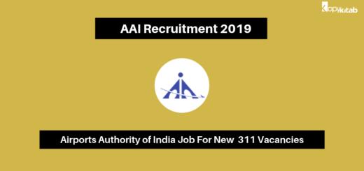 AAI Recruitment 2019