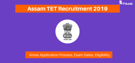 Assam TET Recruitment 2019